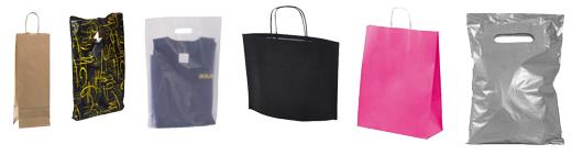 Stort udvalg af Papirsposer / Plastikposer i god kvalitet til billig pris