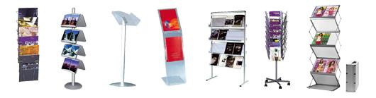 Stort udvalg af smarte brochureholder - I god kvalitet med hurtig levering