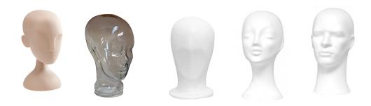 Flotte mannequinhoveder i god kvalitet til billig pris