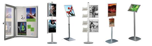 Smarte infostander til plakater, brochurer m.m. - Køb online til gode priser