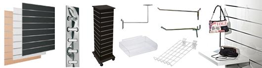 Slatwall butiksinventar - Flot og funktionel inventar system