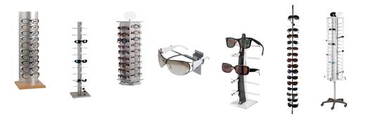 Stativer til briller og solbriller - Vælg mellem flere varianter