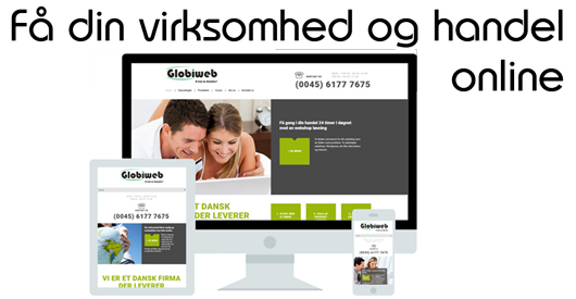 Professionel website og online webshops