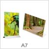 A7 akryl skilteholder - Globifix